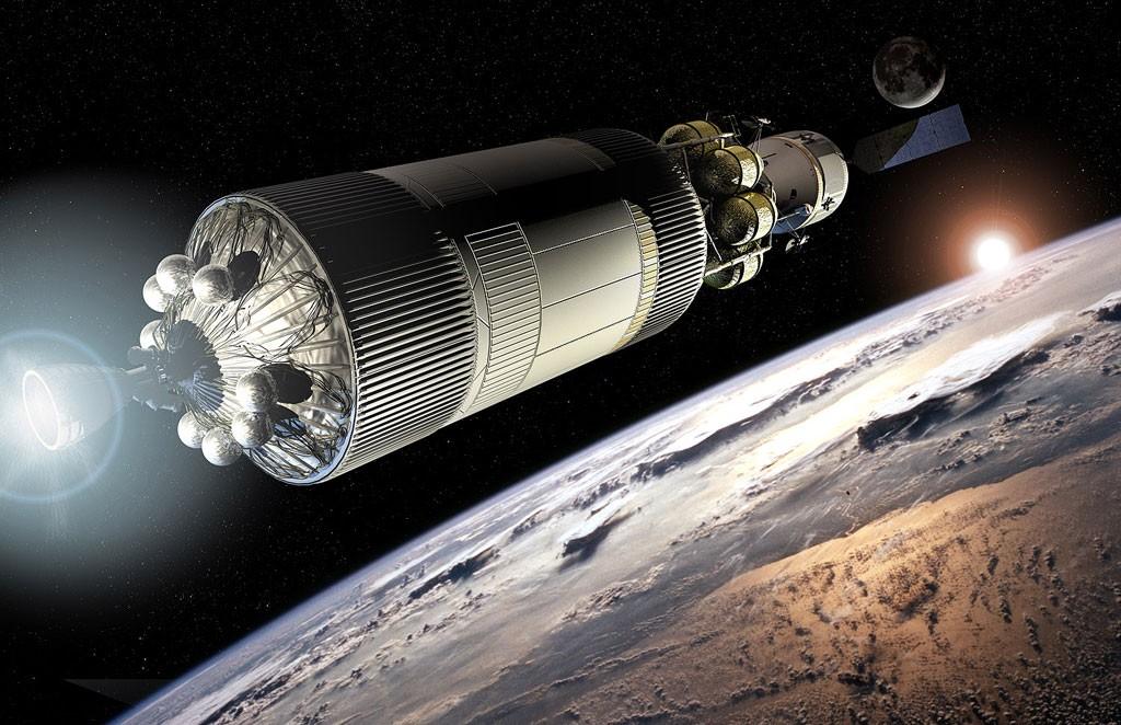 宇宙開発イメージ写真